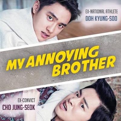 Review Drama Korea My Annoying Brother, Korean Movie Review By Miss Banu, Jo Jung Seok, Doo Kyung Soo, Park Shin Hyr,