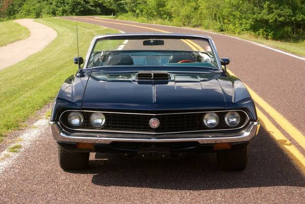 Hagerty Car Values >> 1970 Ford Torino GT Convertible For Sale - Buy American ...