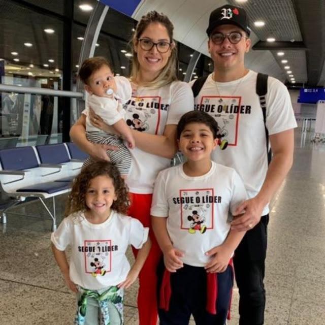 """Wesley Safadão planeja mais tempo para a família: """"Hora de desacelerar"""""""