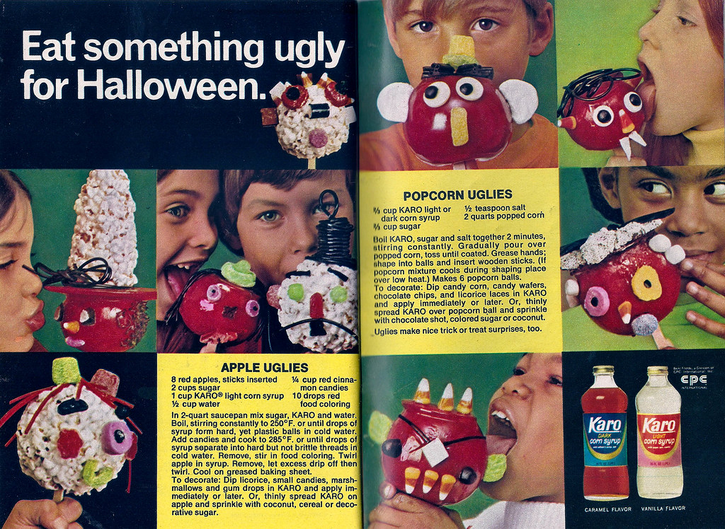 Eat Something Ugly for Halloween: 30 Funny Vintage Halloween Adverts From Between the 1950s and 1970s