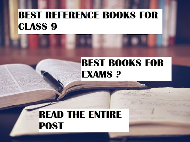 BEST REFERENCE BOOKS FOR CLASS 9| BEST BOOKS FOR CLASS 9 EXAMS