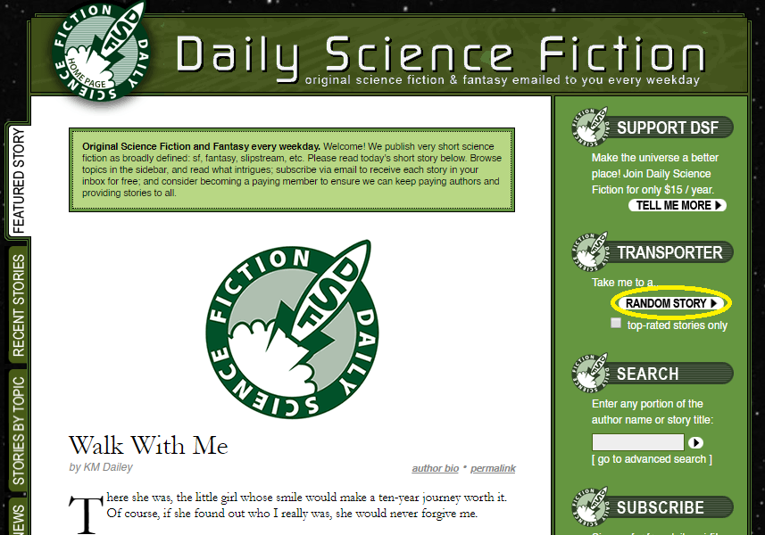 Daily Science Fiction