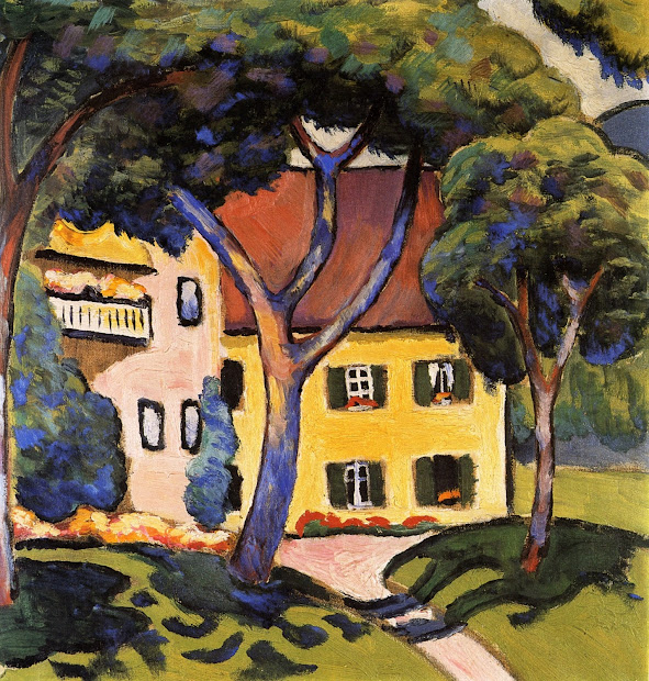 August Macke Expressionist Painter Part. 1 Tutt'art Pittura Scultura Poesia Musica