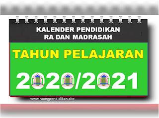 kaldik madrasah tahun 2020-2021