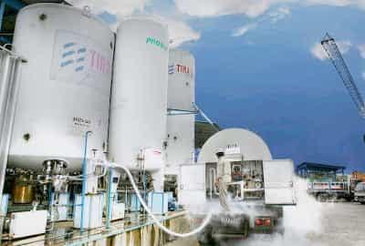 Pabrik Oxygen Tira Gas