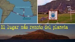Tristan da Cunha, el lugar más remoto del planeta