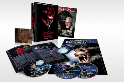 Le Loup-garou de Londres Blu-ray 4K CINEBLOGYWOOD