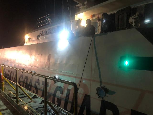 Lagi, Satgassus Trisula Bakamla Tangkap Kapal Transfer BBM Jenis Fame