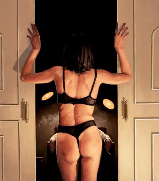 Sua Garota Favorita - Jack Vettriano e suas pinturas cheias de encontros íntimos