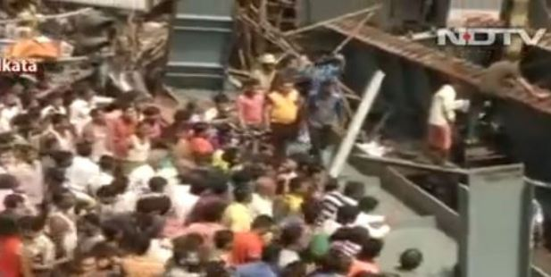 Eight killed, many trapped in overpass collapse in eastern India