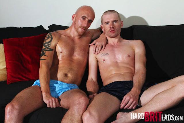 Hard Brit Lads - Sam Porter and Seb Evans