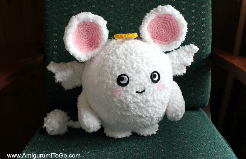 Amigurumi Freely Fb : Mary the angel mouse ~ amigurumi to go