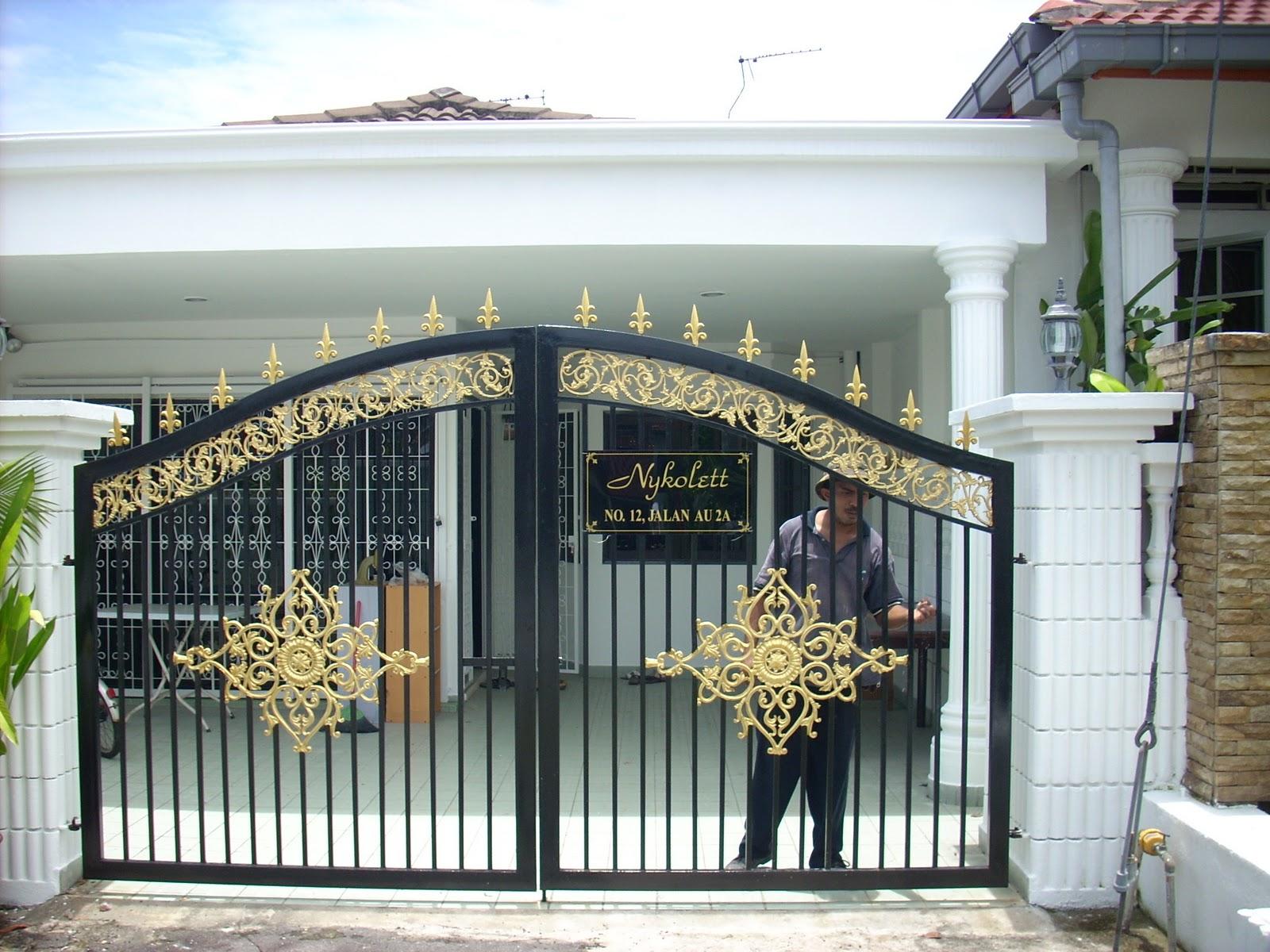 Design Of A Gate House | Modern Design