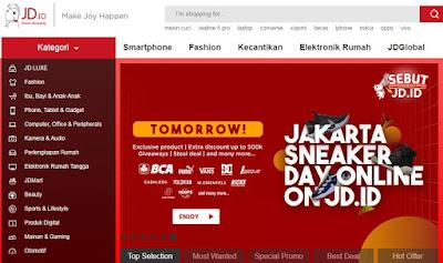 JD.id Online Shop Terpercaya