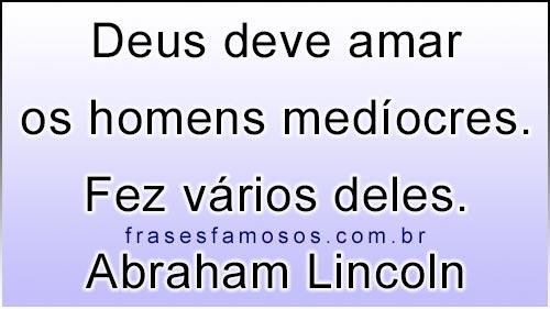 Frase de Abraham Lincoln