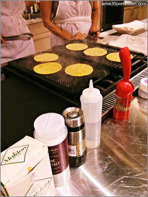 Tortillas de Maíz para los Tacos de Cerdo al Pastor