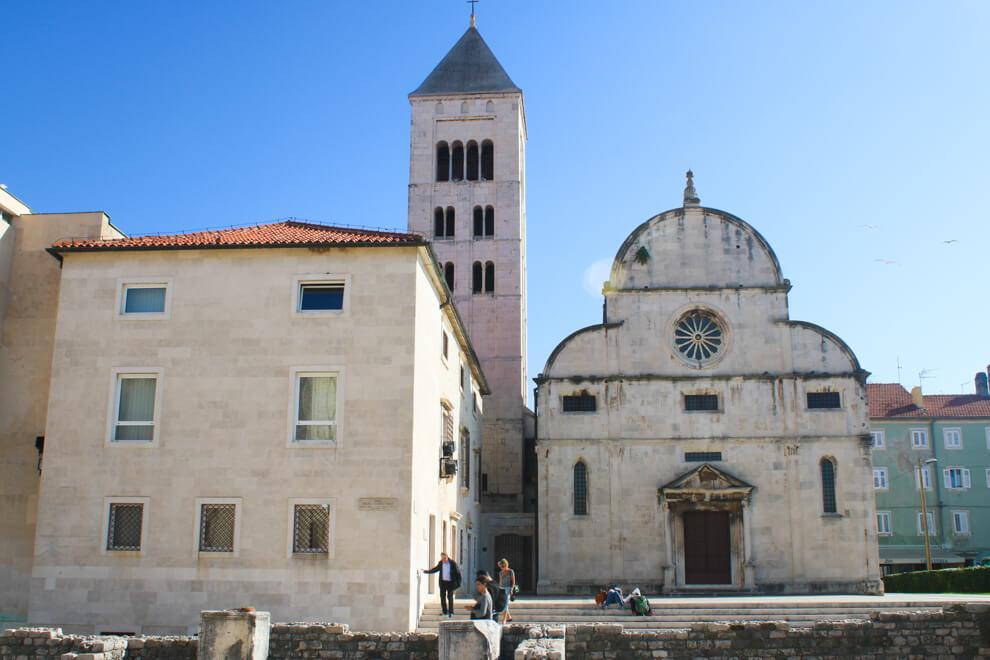 Zadar Croatia architecture