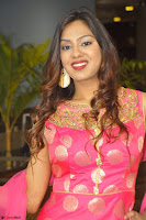 Sindhu Shivarama in Pink Ethnic Anarkali Dress 04.JPG