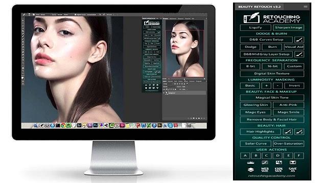 Retouch v3.2 Photoshop Extension ດາວໂຫລດຟຣີ!! ໃຊ້ງານຕະຫຼອດຊີບ