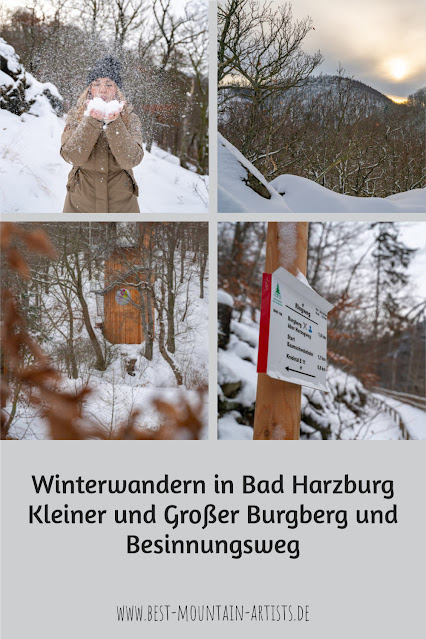 Winterwandern in Bad Harzburg | Kleiner und Großer Burgberg und Besinnungsweg | Baumschwebebahn | Wandern im Harz 30