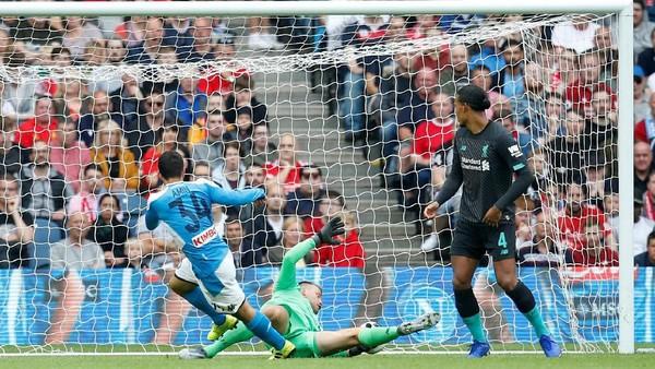 Hasil Liverpool Vs Napoli: The Reds Dipermalukan 0-3