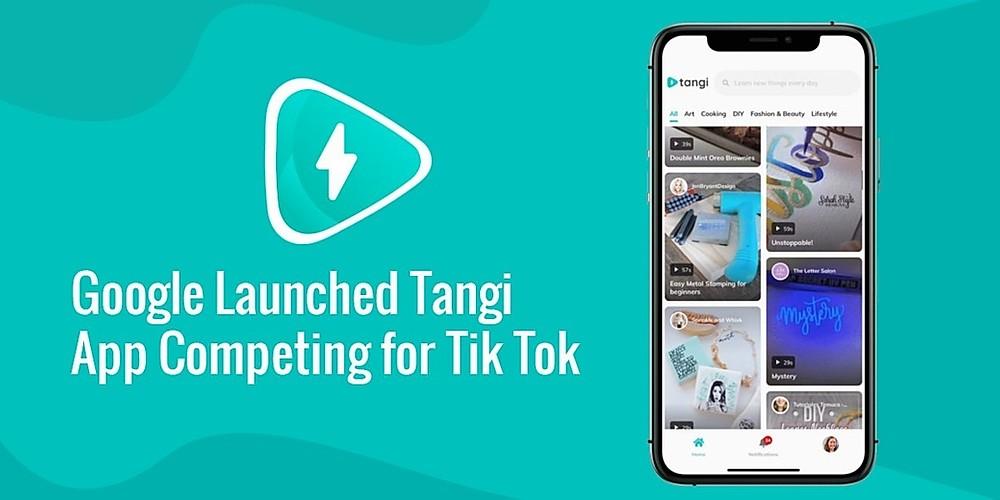 भारत में विडियो मेकिंग ऐप TikTok  को टक्कर देने आया Google का Tangi Application