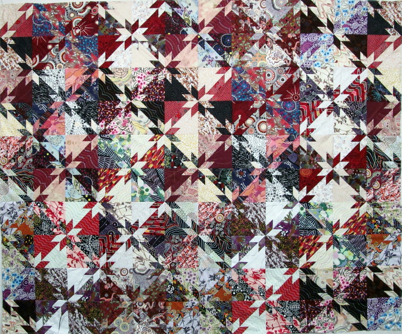 Exuberant Color 3 Ways To Make Hunter Star Quilts