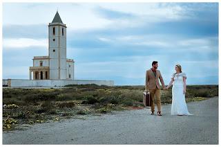 Fotografía sesión postboda - Cabo Gata - Almería