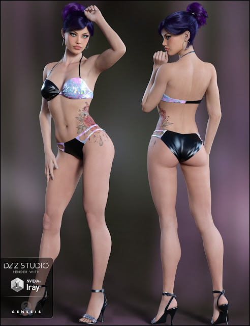 Melisande for Genesis 3 Female