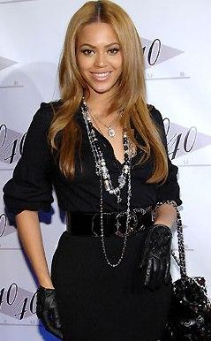 Foto de Beyonce con vestido negro