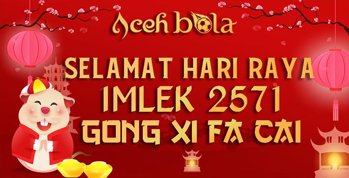 Selamat Hari Raya Imlek 2571 Gong Xi Fa Chai