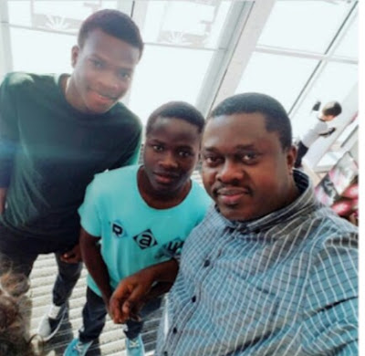 Popular Nollywood Actor Actor Muyiwa Ademola Shares Cute  Picture With His Twins sons As They Celebrate Their Birthday