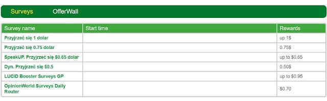Ankiety w GreenPanthera.