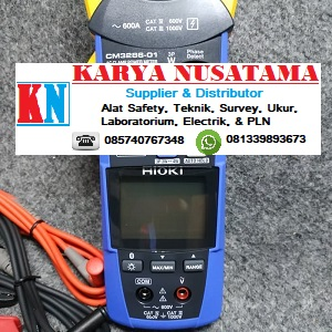 Jual Tang Clamp Power Meter Merk Hioki CM3286-01 di Samarinda