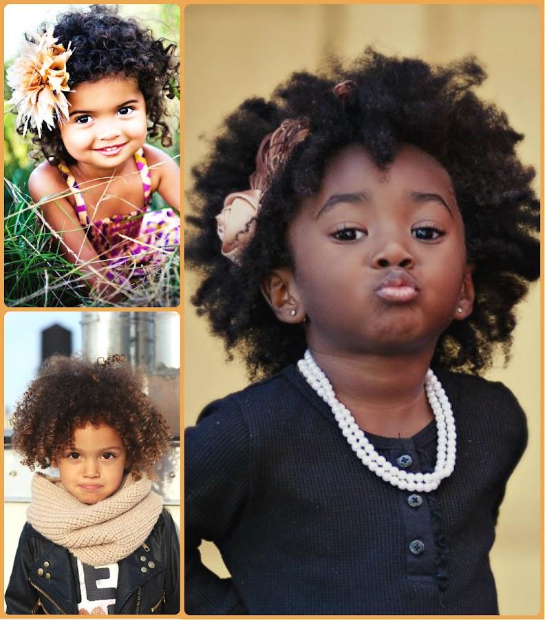 Cortes para niñas de pelo rizado