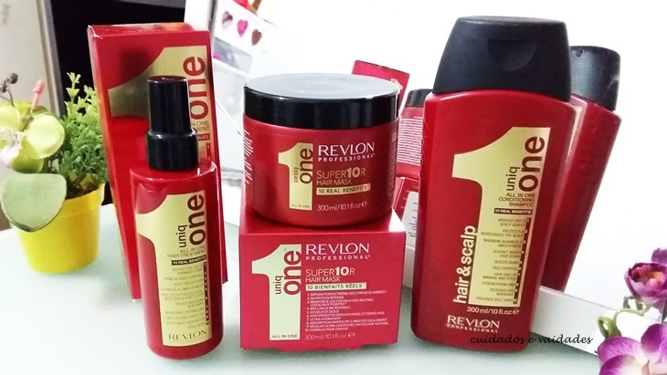 Resenha Revlon Uniq One Máscara, Shampoo e Leave-in