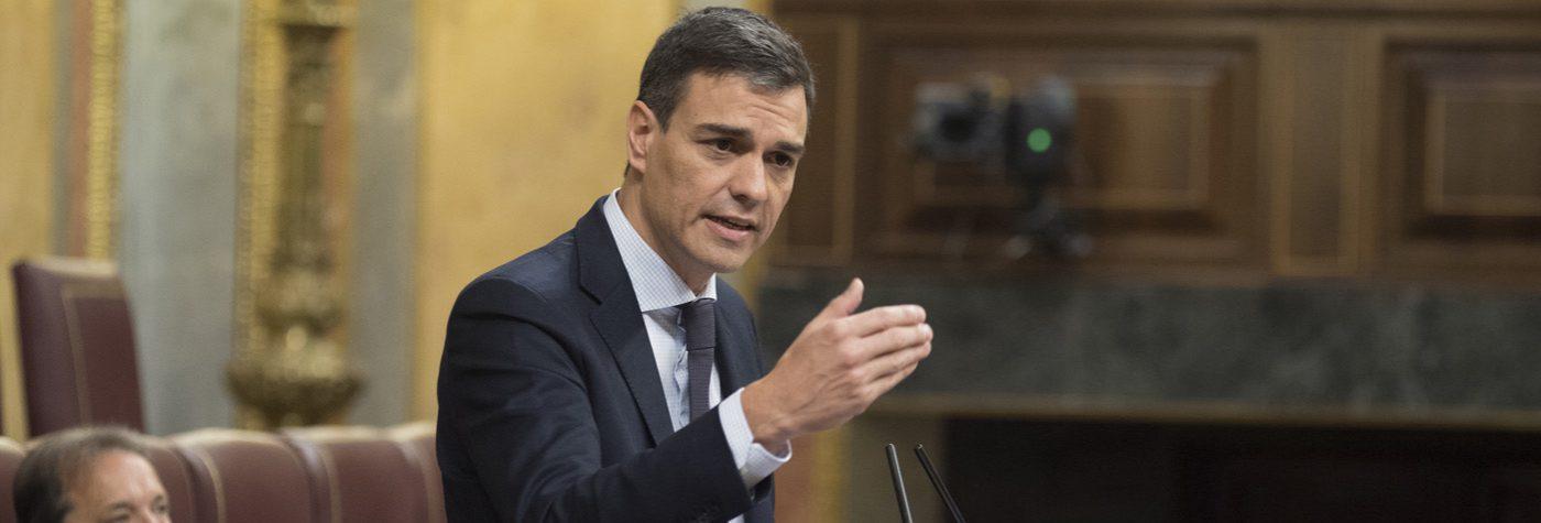 Pedro Sánchez, Presidente