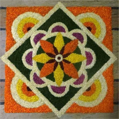 Best Athapookalam Designs with Flowers
