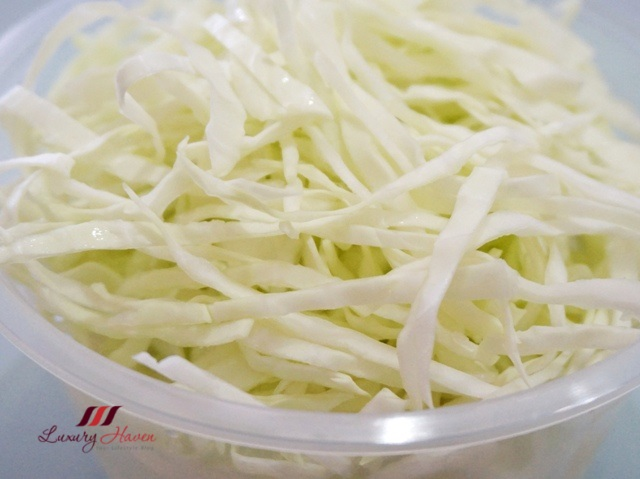 shredded cabbage salad recipe