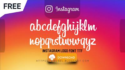 Font Logo Instagram TTF