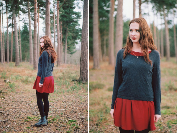Photo shoot: Georgie at Kings Wood