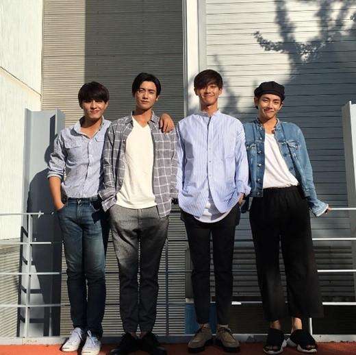 Kkuljaem Hwarang Co Stars Do Ji Han Park Hyung Shik Park Seo Joon