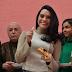 """Elenco y producción de """"Sin tu mirada"""" partieron tradicional Rosca de Reyes"""