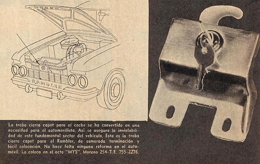 Archivo de autos: Cerradura para el capot del Rambler