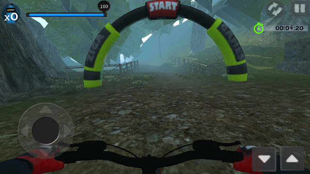 cheat mtb downhill tanpa root