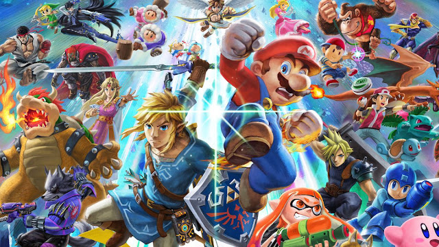Super Smash Bros. Ultimate (Switch) chegou a 60 GB durante o desenvolvimento