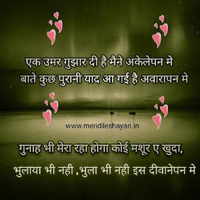 Hindi Shayari Status - Meridileshayari in