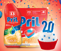Logo Concorso ''Pril regala Pril'': vinci forniture annuali