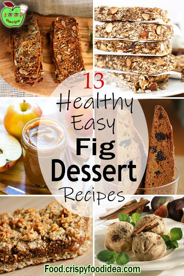 Easy Dried Fig Dessert Recipes | Easy Dried Fig Appetizer Recipes