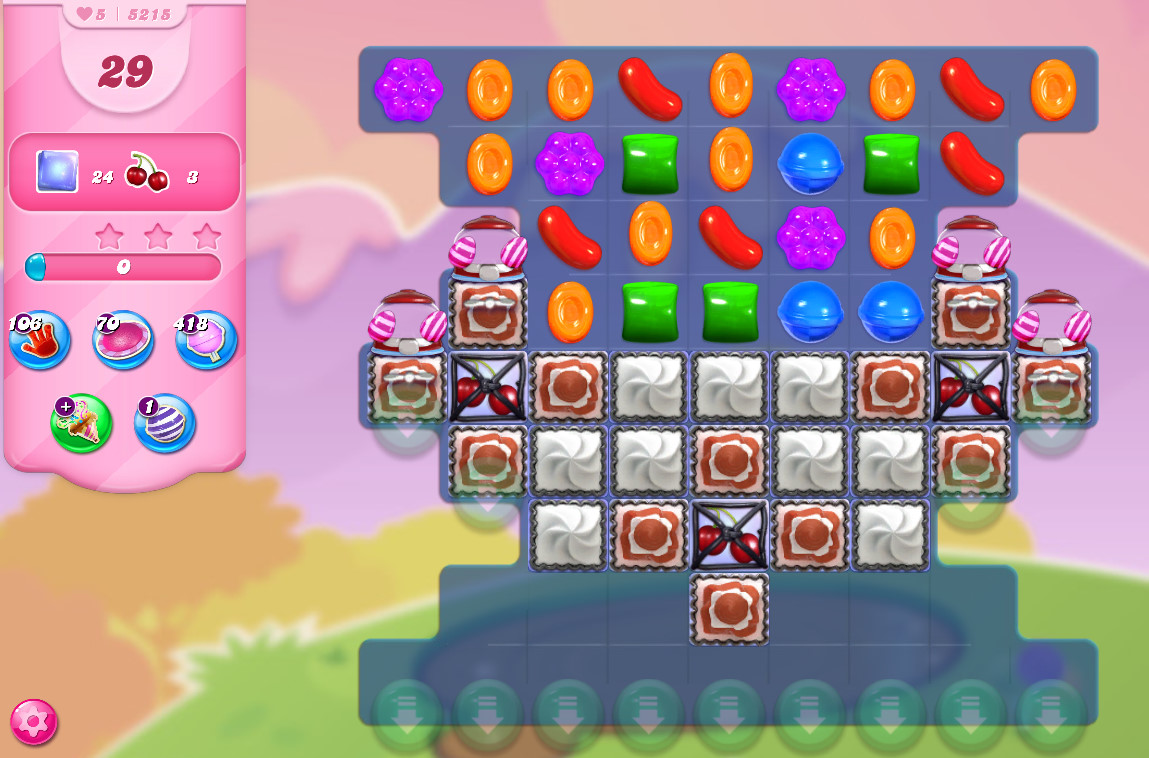 Candy Crush Saga level 5215